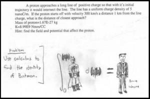 Funny math answer
